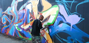 Pose2 creating art